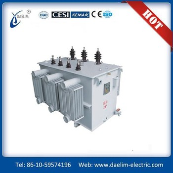 10kv-220kv oil-immersed three-phase transformator 25kv