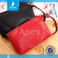 Fashion lady hand bag leather wallet