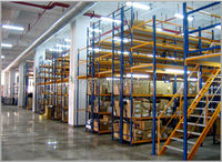 Warehouse multilevel mezzanine rack, OEM/ODM services are provided