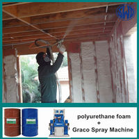 Polyurethane Spray Rigid Foam heat insulation waterproofing materials