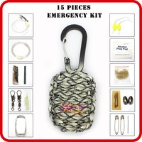 wholesale camping box custom survival supplies bag list