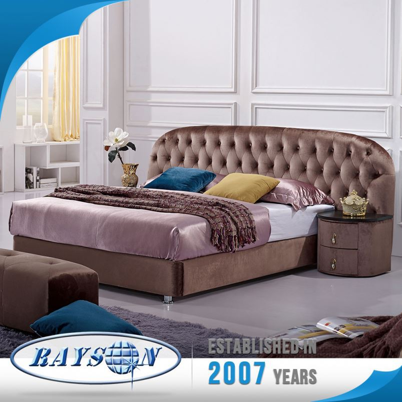Best Price Hot Selling Customized Fashion Curved Bed