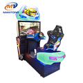 Mantong 3D Motion Racing Car Simulator Arcade Game Machine With 3D Glasses For Sale