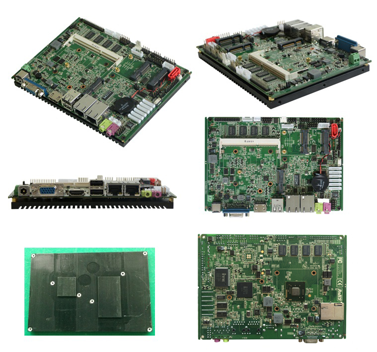 Well tested 3.5 inch with 1*Sata and1* Msata dual core CPU intel industrial mini itx motherboard