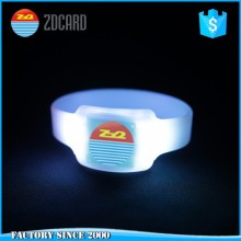 Light Up Sound/Motion Activated /Radio RFID Controlled led flashing wristband