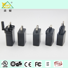 10W mobile phone charger, 5V/2.0A UL/TUV/CE/CB approval USB adapter