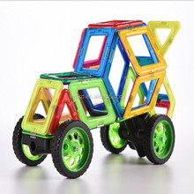 Funny Eco-friendly magnetic toys educational plastic magnetic building blocks