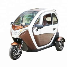 2019 2000w new EEC approval adults electric tricycle car with central lock
