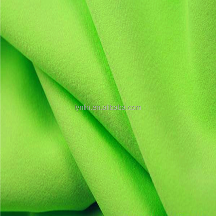 200D40D plain dyeing high weight polyester spandex fabric
