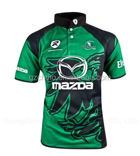OEM Sublimated Rugby Shirts Manufacture