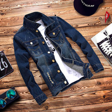 2017 custom hot sale new fashion brand new winter jacket men 2017 jean jacket for men