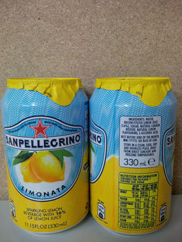 San Pellegrino Cans 24x330ml all flavours UK TEXT