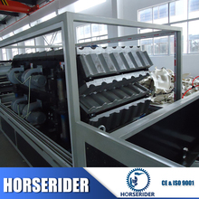 Hot popular pvc plastic roofing sheet extrusion machine/plastic house roof tile sheet forming line