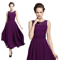 ED 10016 Wholesale Women Boat Neck Formal Long Ball Gown Party Prom Cocktail Evening Dress