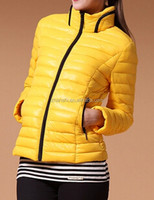 Hot Sell High Quality Outdoor Sport Ultra Light Down Jacket For Women