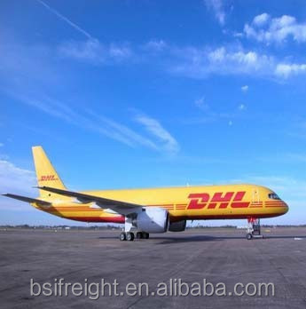 Door to door services from China to Algeria by DHL