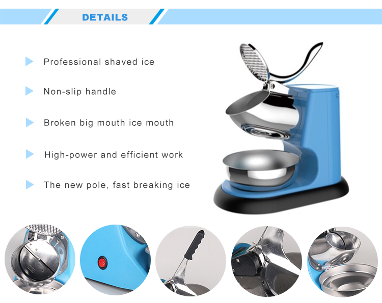 WF-A108 Semi Automatic ice crusher machine