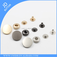 wholesale fashion custom metal snap button for jacket 17mm