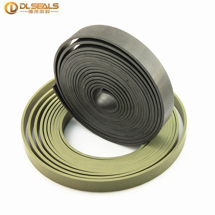 DLSEALS Standard wear resistance guide strip ptfe+bronze wear tape