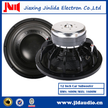 12 inch Dual 2 ohm subwoofer JLD Audio 1000 watt subwoofer China subwoofers