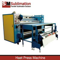 Heat Press Machine - Oil Heating Drum Type