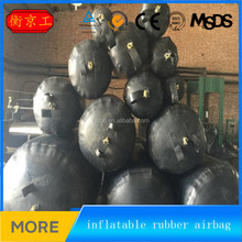 China water pipe leak detection fabric insertion inflatable rubber airbag