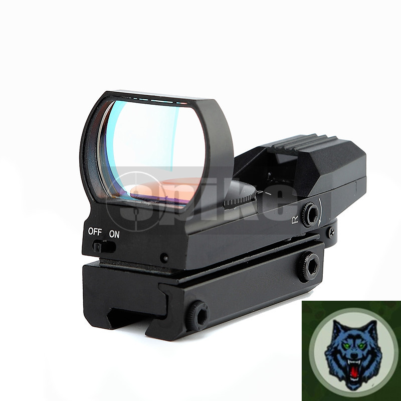 HD105 Red Dot Open Reflex Sight with Rail Mount for 22 mm rails