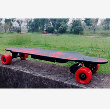 Four Wheel Hoverboard Double Drive Skateboard LED Samsung Battery Trucks Skateboard App Control Carver Skateboard Press