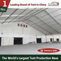 40m storage tent for warehouse and workshop