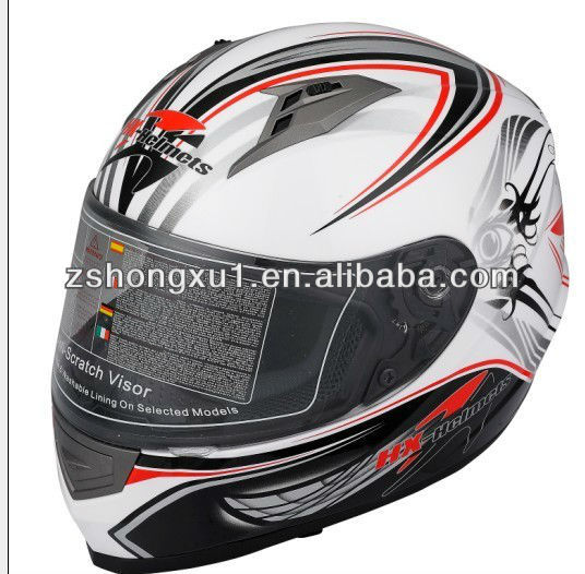 Full Face Helmet with ECE Certificated X302