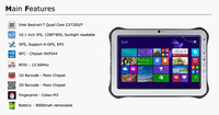 "Stock Products Status and 10"" Screen Size Rugged Tablet PC"