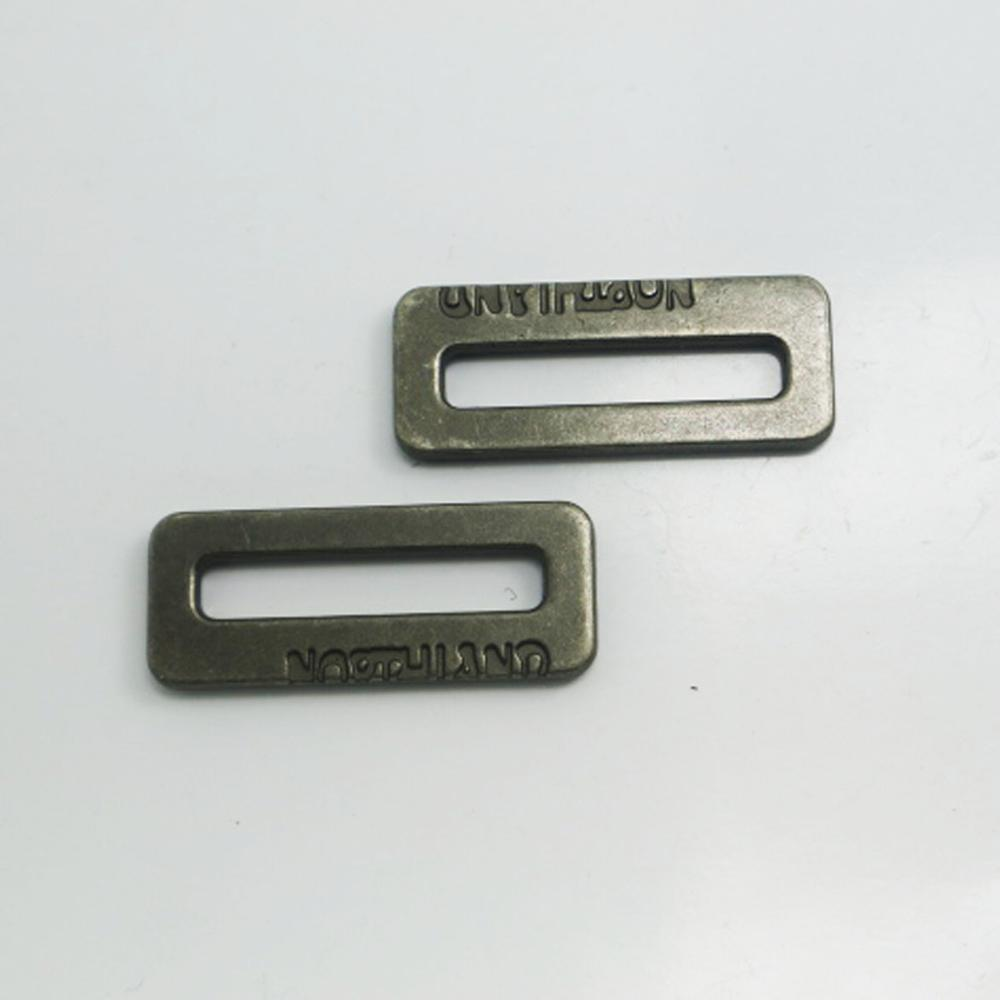 Anti brass <strong>d</strong> ring buckle for backpack metal accessories <strong>D</strong> shape loop ring