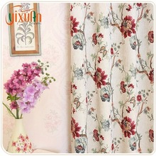 2017 High Quality Cheap Price new design curtain types of blackout window curtains