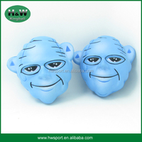 promotional custom Head portrait pu stress ball