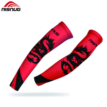custom elastic sublimation slimming arm sleeves with UV Sun Protection