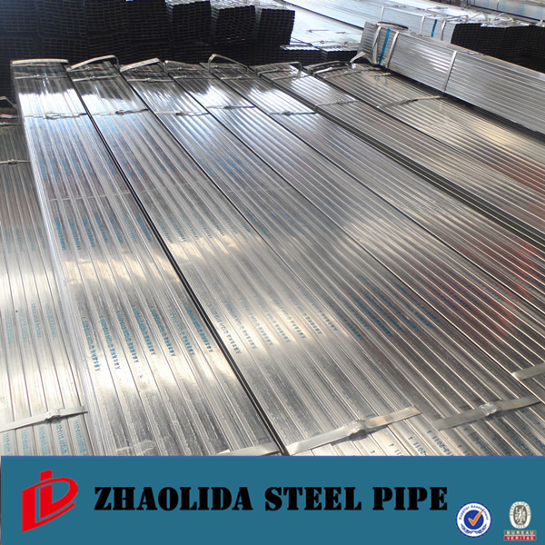 square section shape ! hot dipped galvanized square seamless steel pipe 40x40 ms steel galvanized square tubing