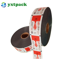 Laminated Food Packaging Plastic Roll Film /laminating Food Grate Plastic Pvc Film Roll For Water Sachets 500ml /pet Film