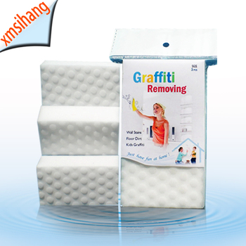 Graffiti Cleaning Sponge Compressed Melamine wholesale household items Interesting products 2019