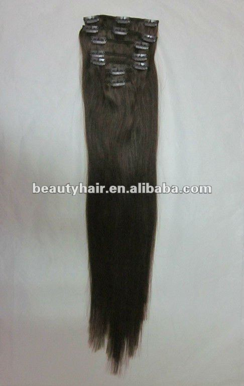 Human Hair Salon Clip In Hair on sale