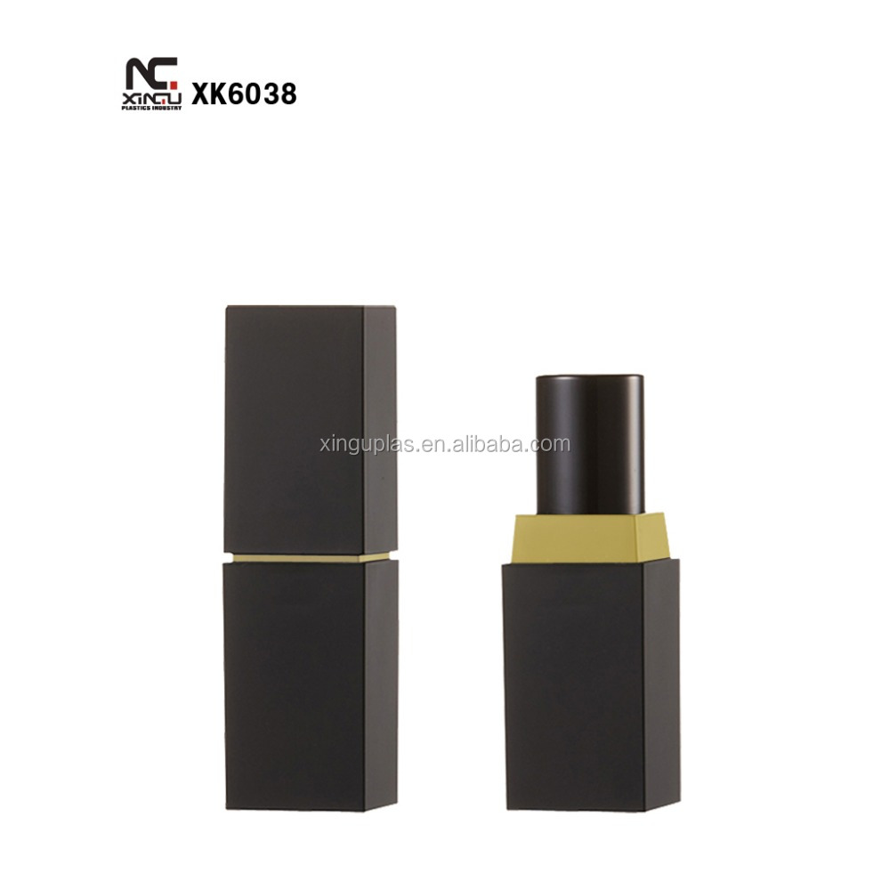 lipstick tube with aluminum sleeve , customized color are welcome
