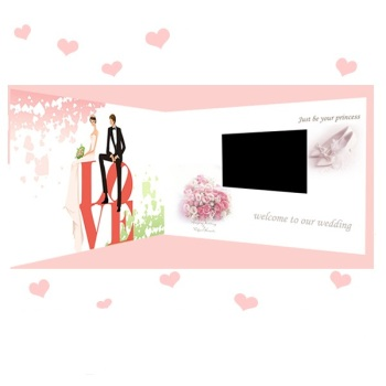 video wedding invitation card