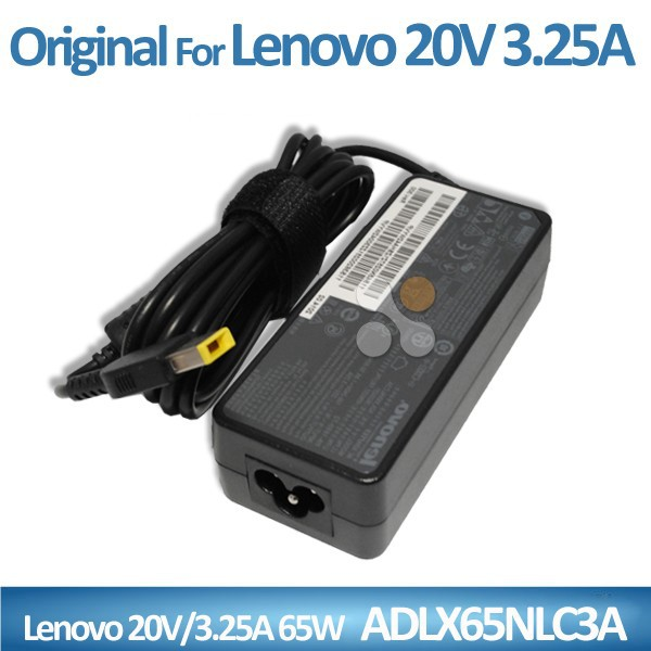 Original Laptop AC Adapter 20V 3.25A 65W for Lenovo ADLX65NLC3A