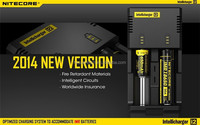Nitecore intellicharger I2 e-cig battery charger with wholesale price new and original nitecore i2