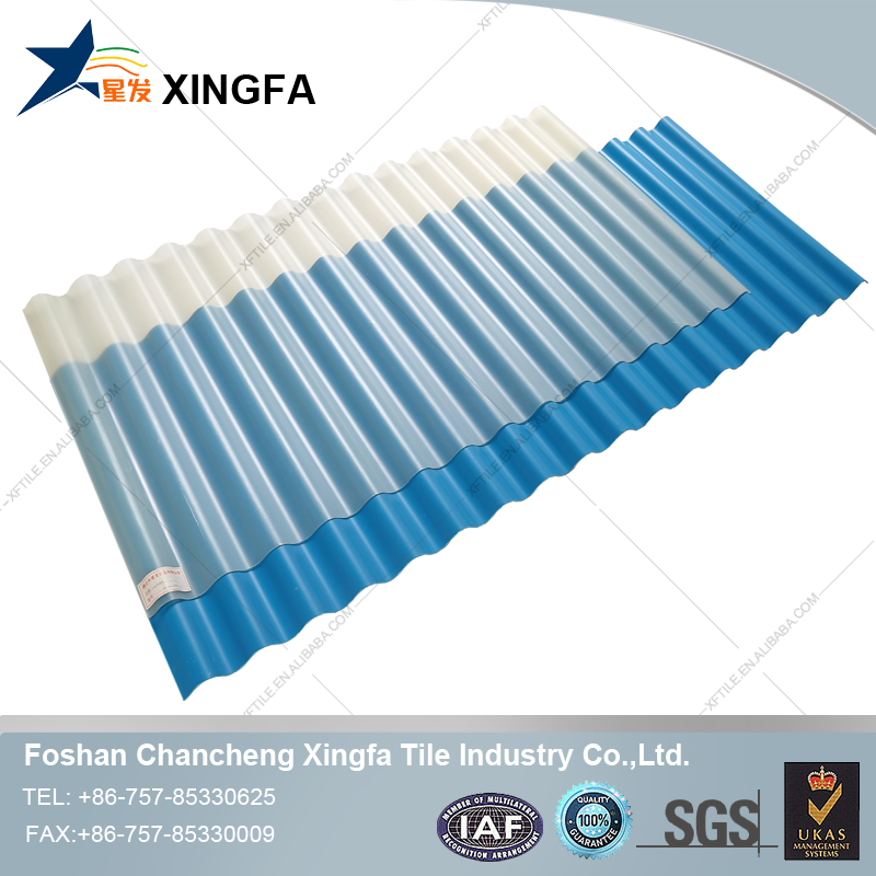 Xingfa clear roofing panels,roofig covering,plastic roof panels