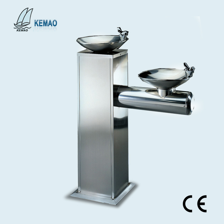 hot selling 304 Stainless steel outdoor drinking water fountain for park