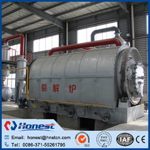 energy saving waste plastic pyrolysis to oil machine for sale