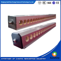 high efficiency nonpressuresolar evacuated glass tube manifold collector solar collector