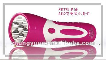 led rechargeable flashlight led torch light LED-8216