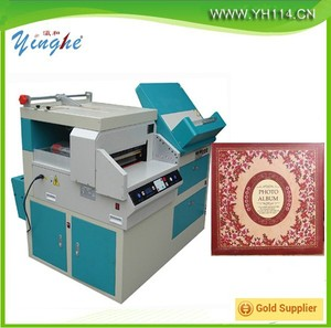 10 in 1 Production line for digital photo album making machine, multifunctional album maker, automatic wedding photo album maker