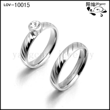 Couple fashion ring finger rings photos for customize